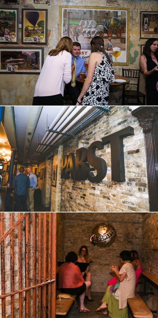 Best Place at Pabst Brewery Wedding