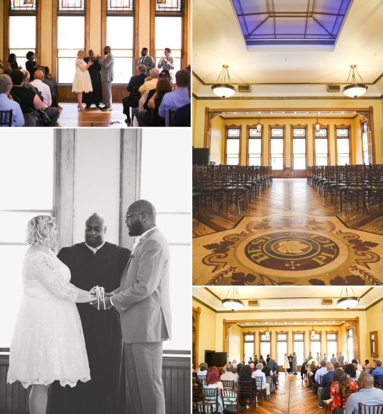Pabst Best Place Wedding Ceremony