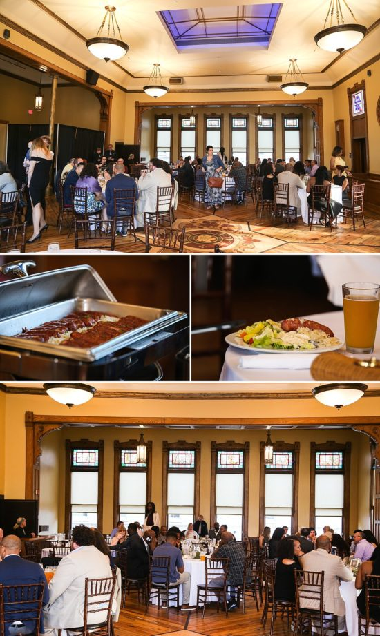 Wedding Reception at Best Place Pabst Brewery