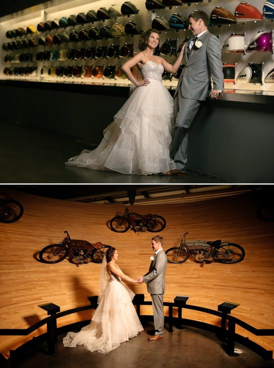 Harley-Davidson Museum Wedding