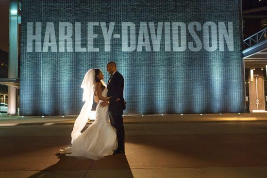 Harley Davidson Musuem Wedding