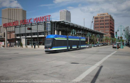 Milwaukee Streetcar Photo