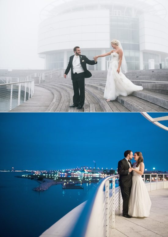 Pier Wisconsin Discovery World Milwaukee Wedding