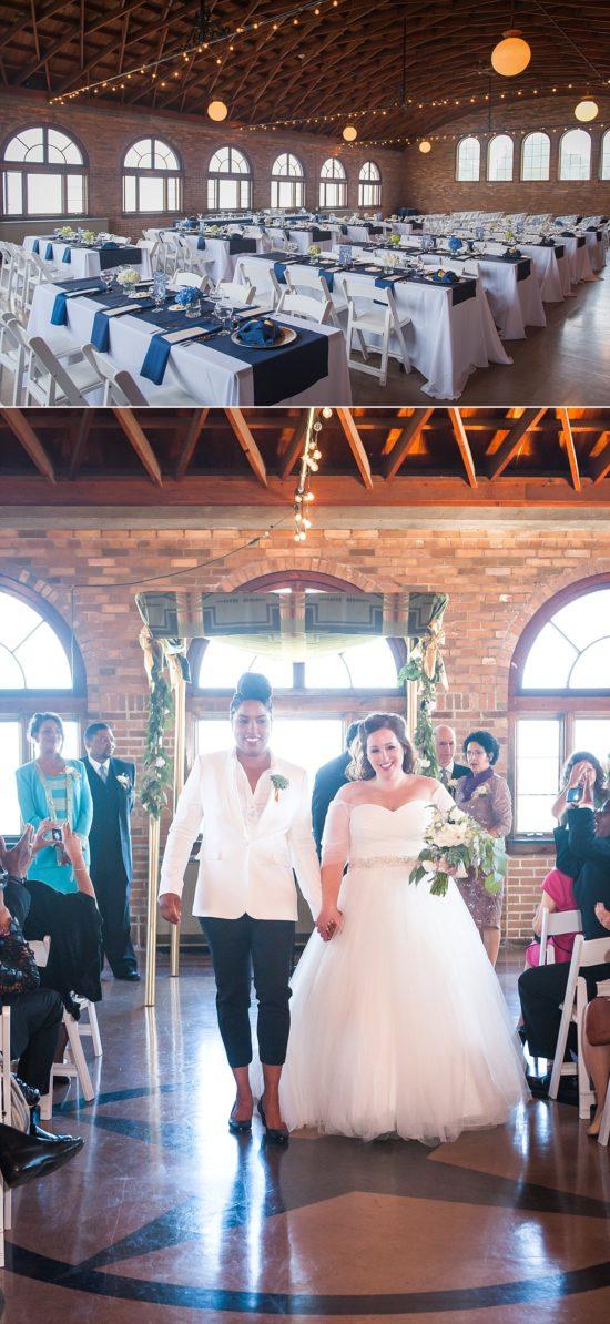 South Shore Pavillion Milwaukee Wedding