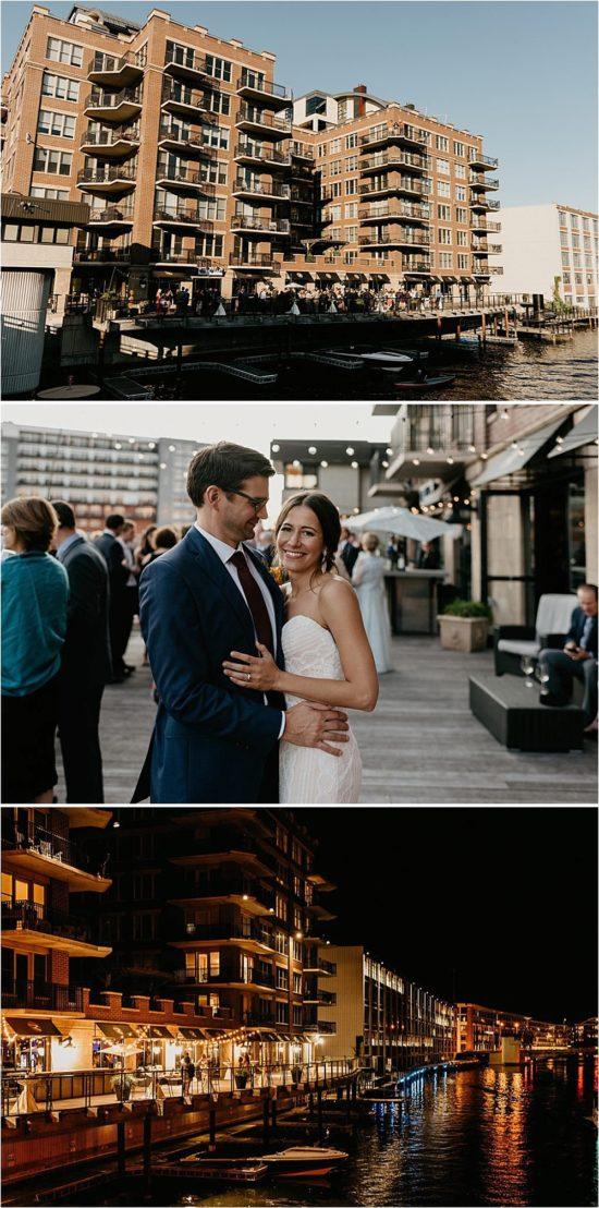 Surg on the Water Wedding Milwaukee