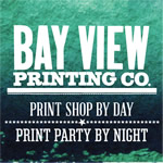 Drink and Ink at Bay View Printing Co.