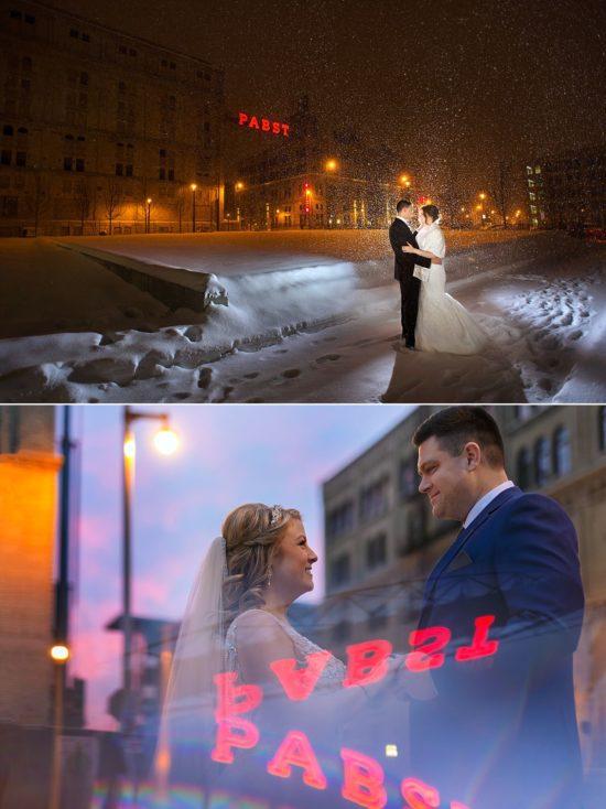 Milwaukee Landmark Wedding Photos