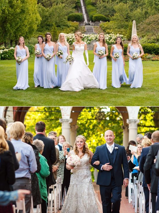 Milwaukee Villa Terrace Wedding Photos