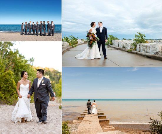 Lake Michigan Wedding PHotos