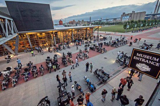 Harley Davidson Museum bike night milwaukee