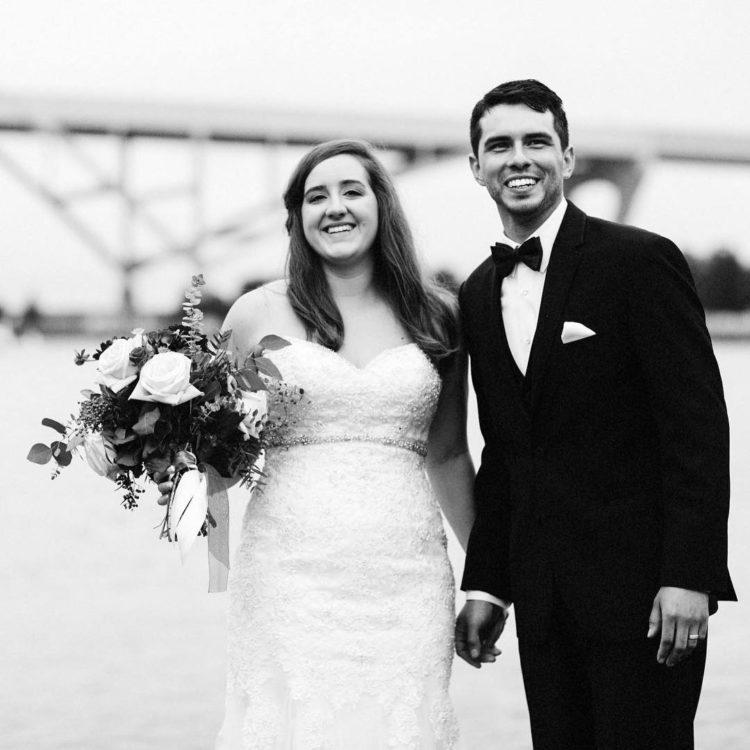 hoan bridge milwaukee wedding