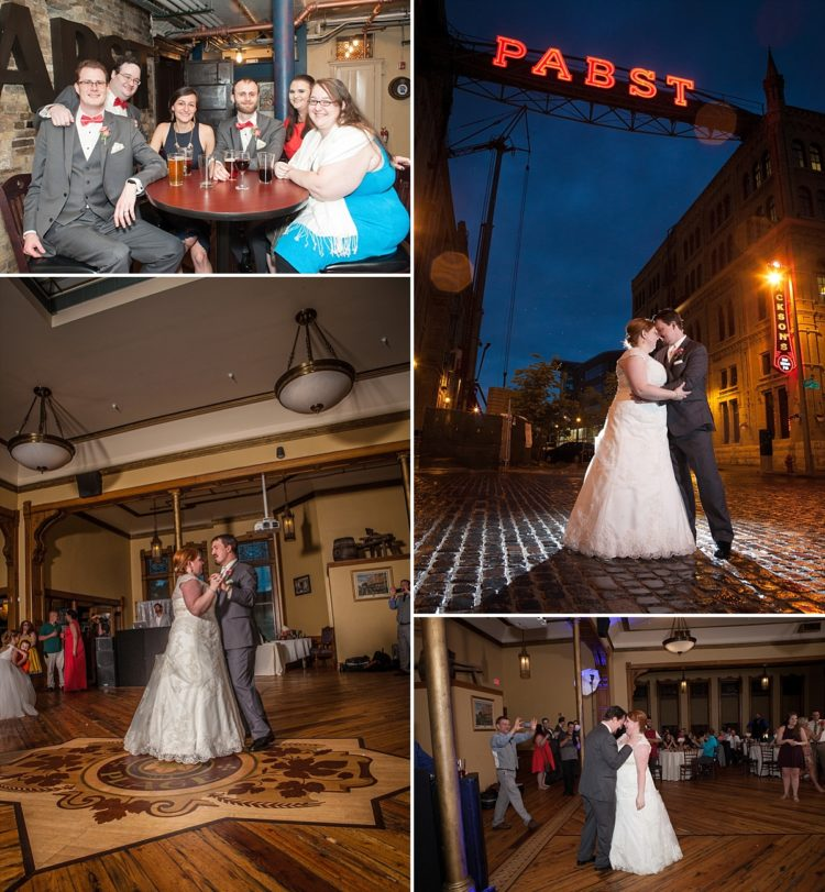 Pabst Best Place Wedding Reception