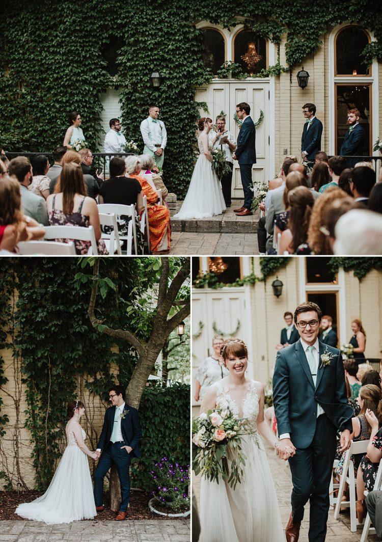 Villa Filomena Outdoor Wedding Ceremony