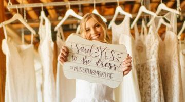 Miss Ruby Bridal Boutique Milwaukee Wedding dress