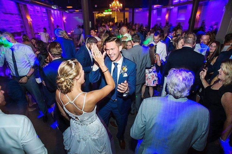 The Atrium Milwaukee Wedding