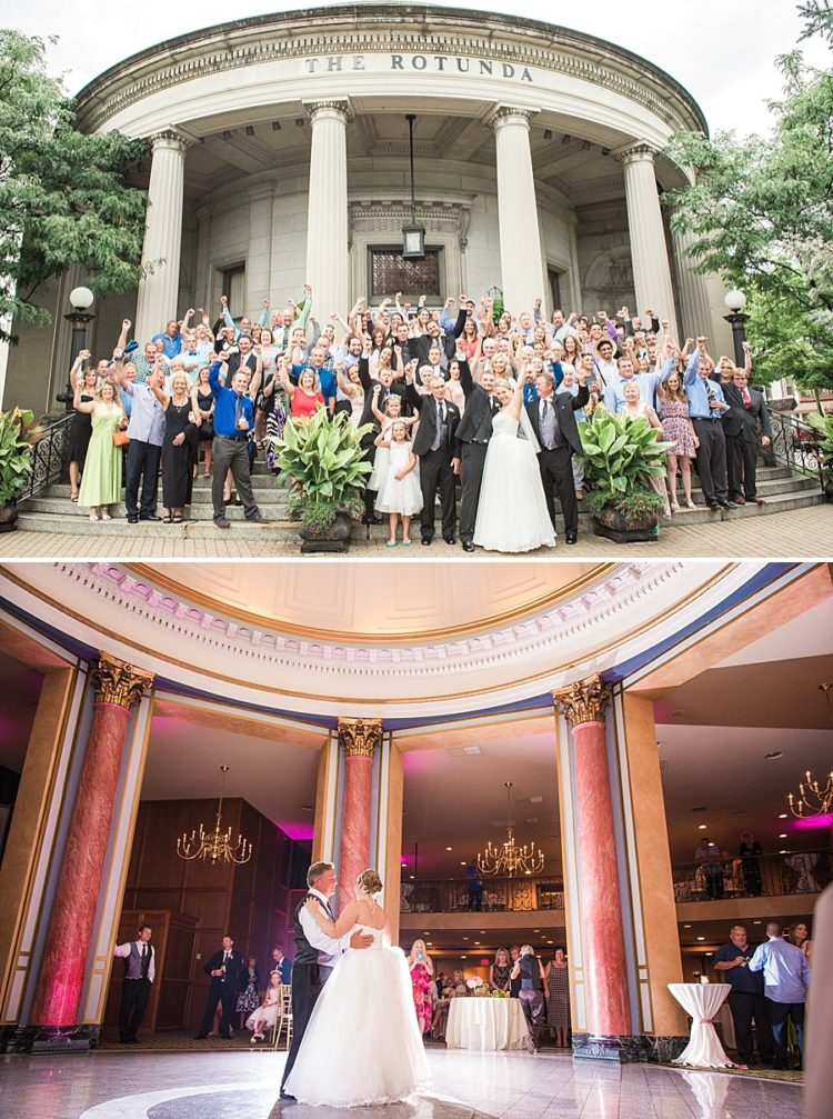 Rotunda Wedding in Waukesha, WI