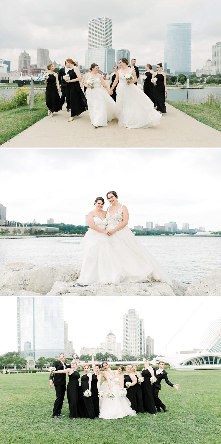 MIlwaukee Lakefront Wedding Photos