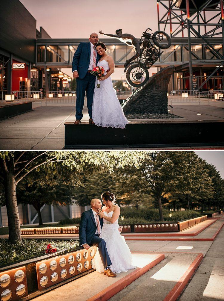 Harley Davidson Museum Weddings