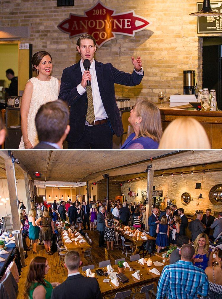 Anodyne Coffee Wedding - Top Milwaukee Venues
