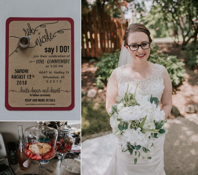 Milwaukee Backyard Wedding Wauwatosa
