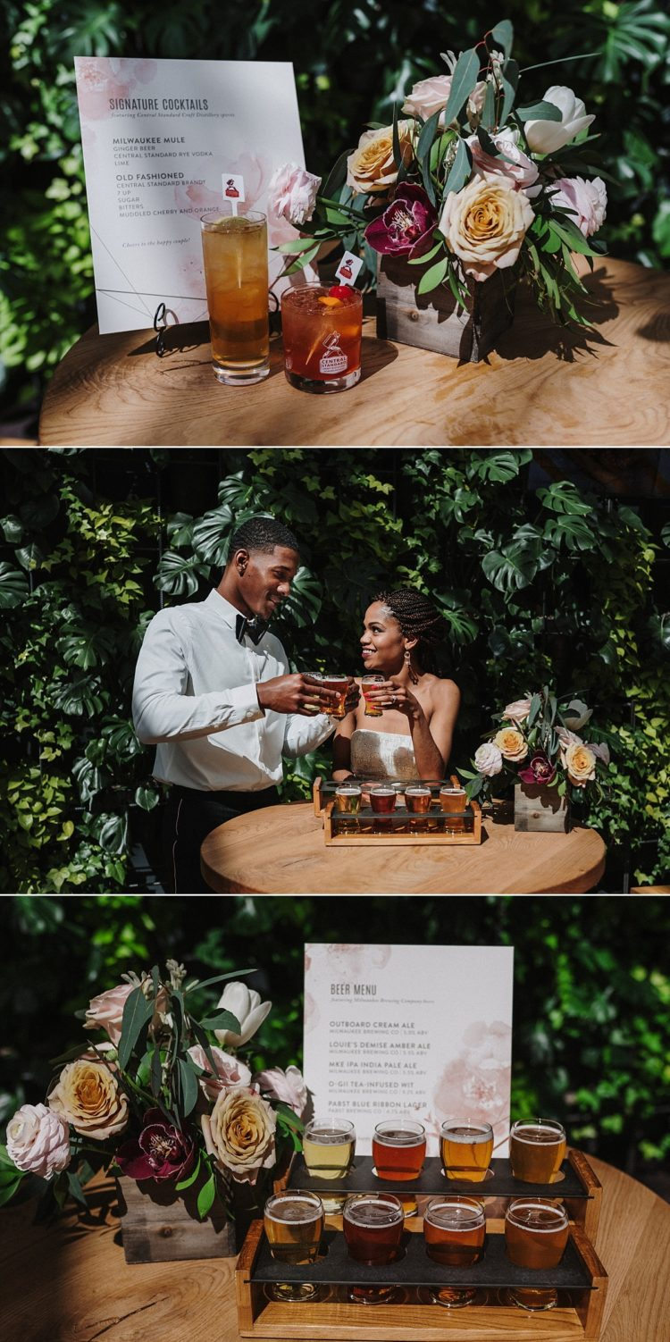 central standard craft distillery wedding milwaukee brewing co
