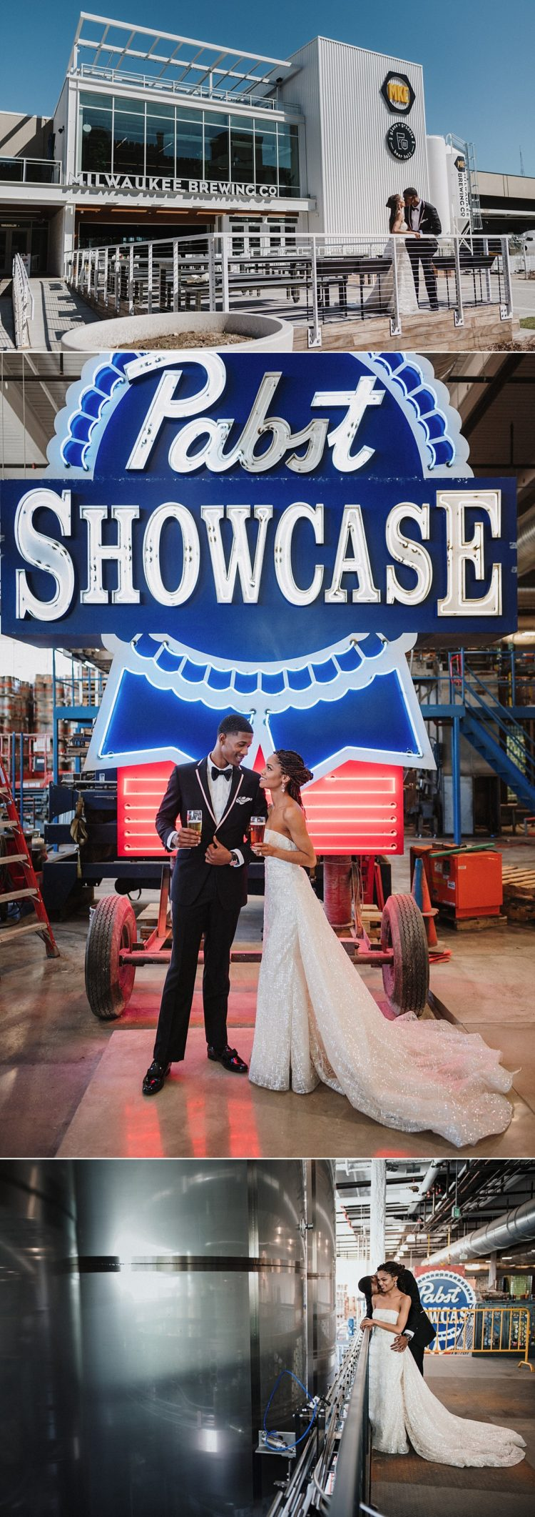 pabst brewery wedding milwaukee brewing