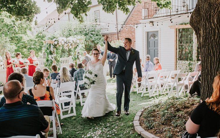 Backyard Wedding in Milwaukee
