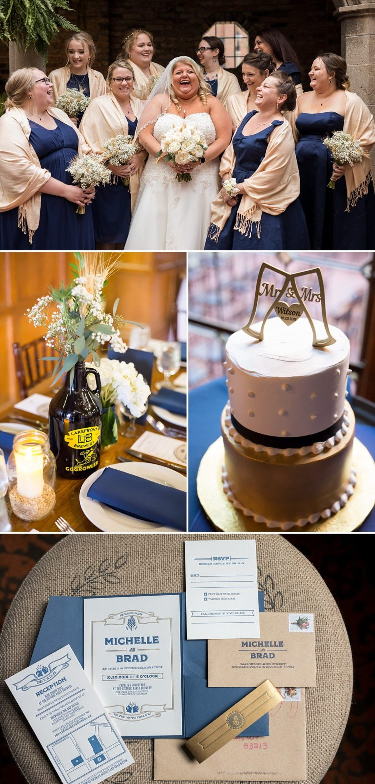 Beer Themed Wedding at Pabst Brewery