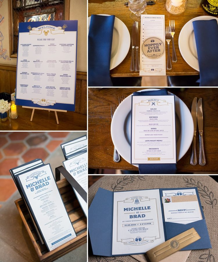 Beer Themed Wedding Invitations and Stationery
