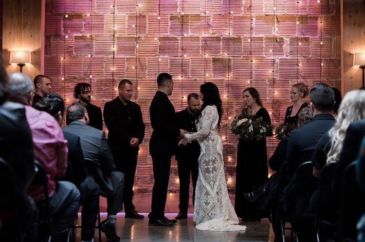 The Atrium Shorewood Wedding