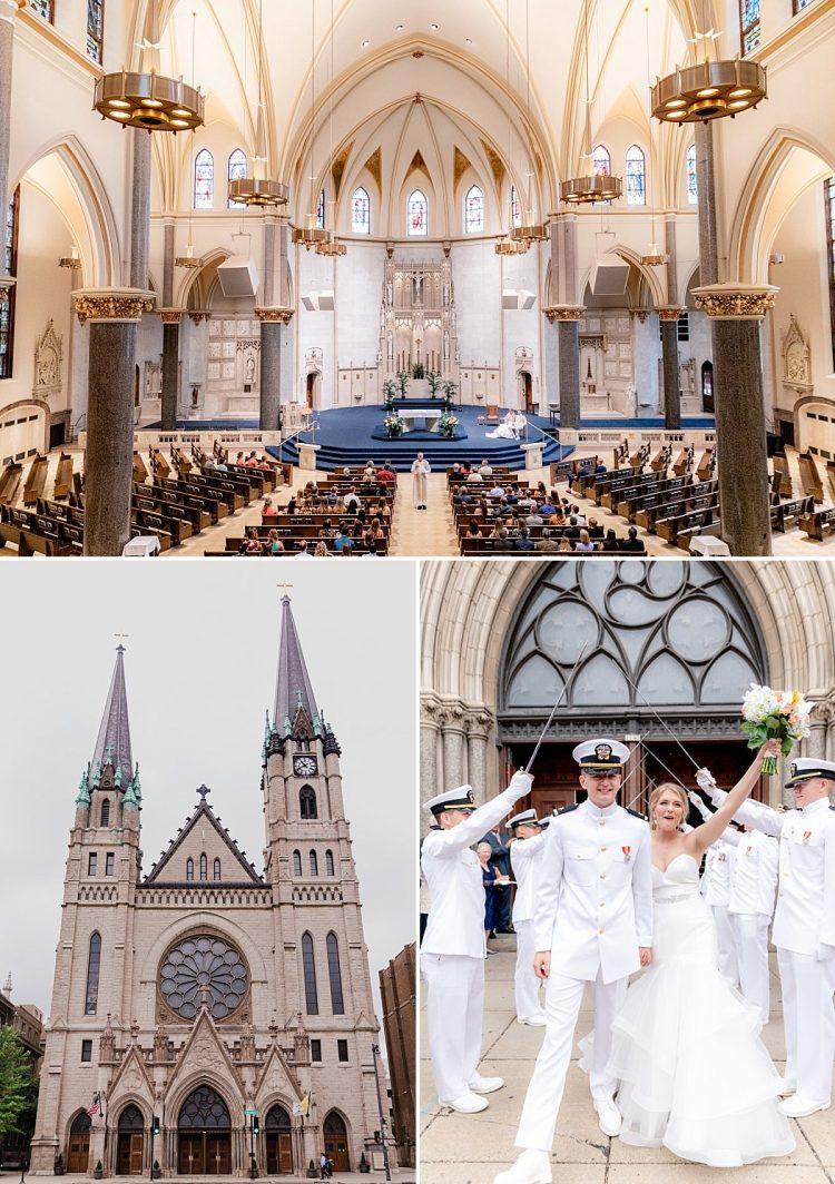 Church of the Gesu Wedding