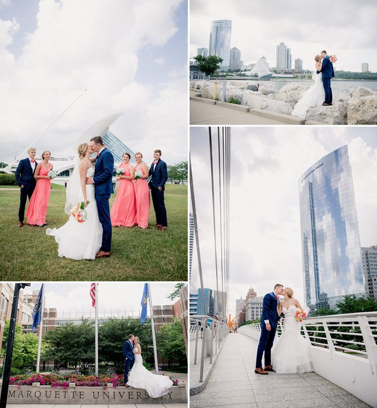 Milwaukee Downtown and Lakefront Weddings