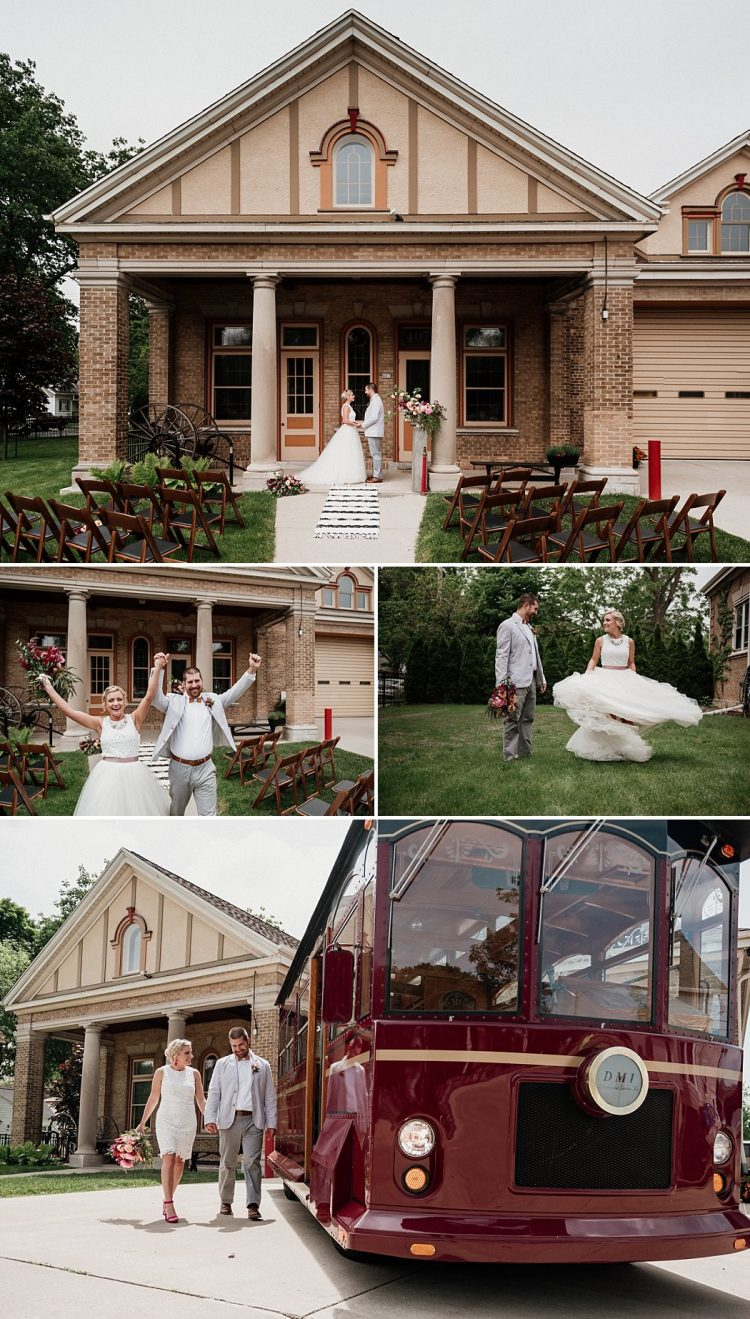 Story Hill Firehouse Outdoor Wedding Ceremony