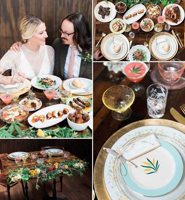 Weed Infused Wedding Dinner
