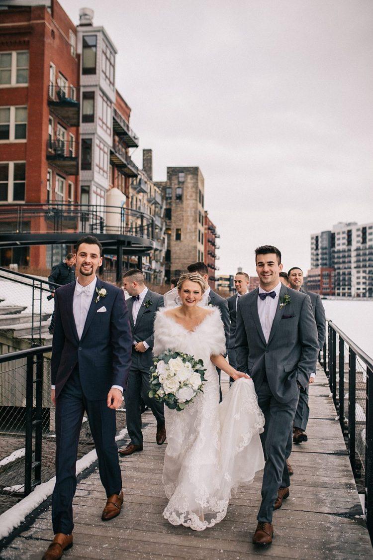 Winter Wedding in Milwaukee
