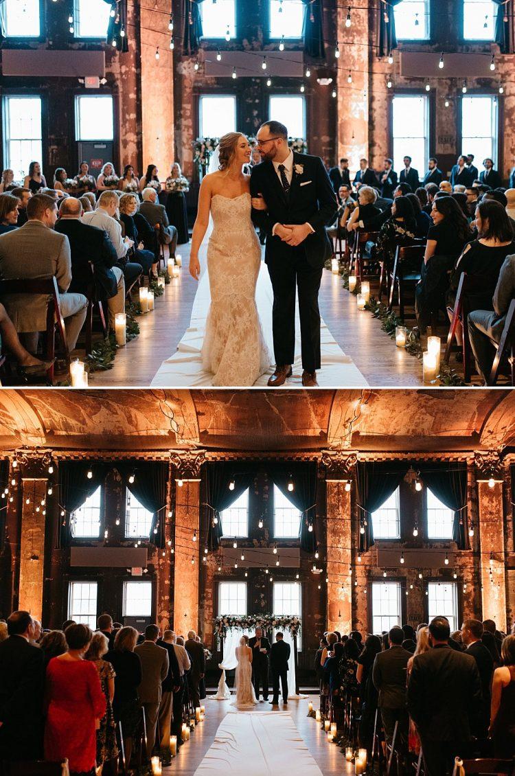 Winter Wedding at Turner Hall Ballroom Milwaukee