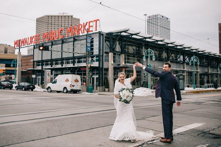 Milwaukee Winter Wedding