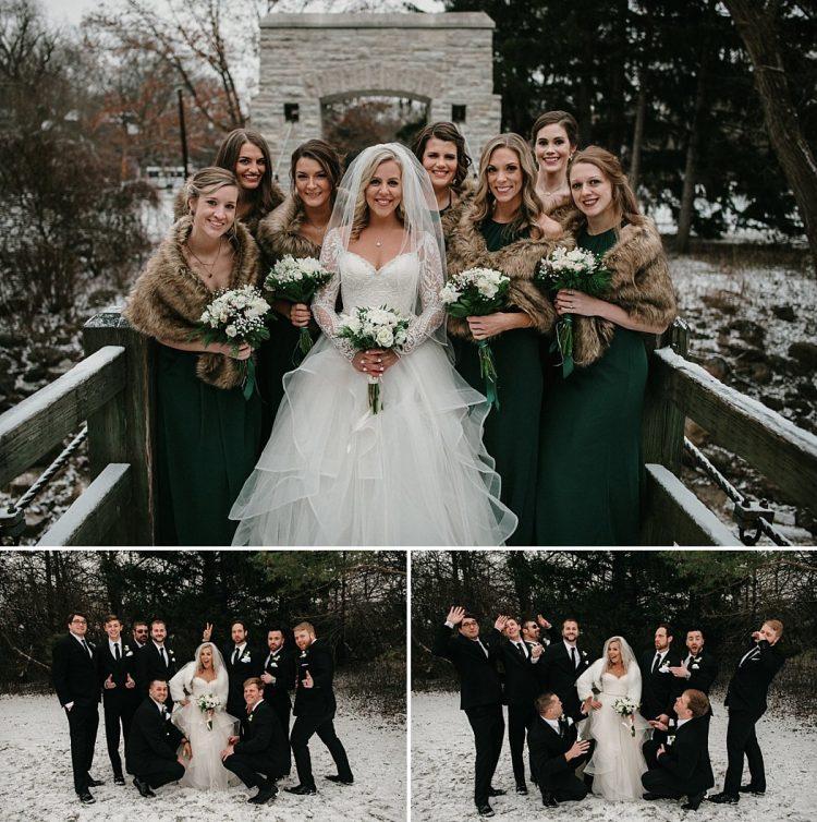 A Winter Wedding in Milwaukee