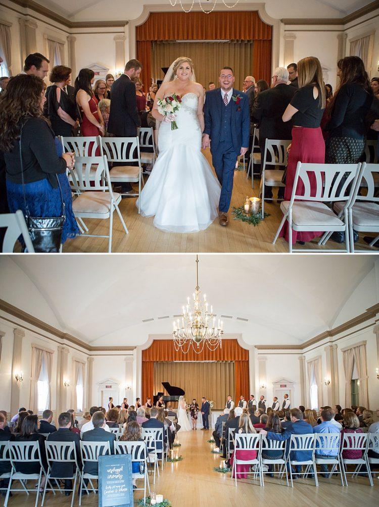 Wauwatosa Woman's Club Wedding Ceremony