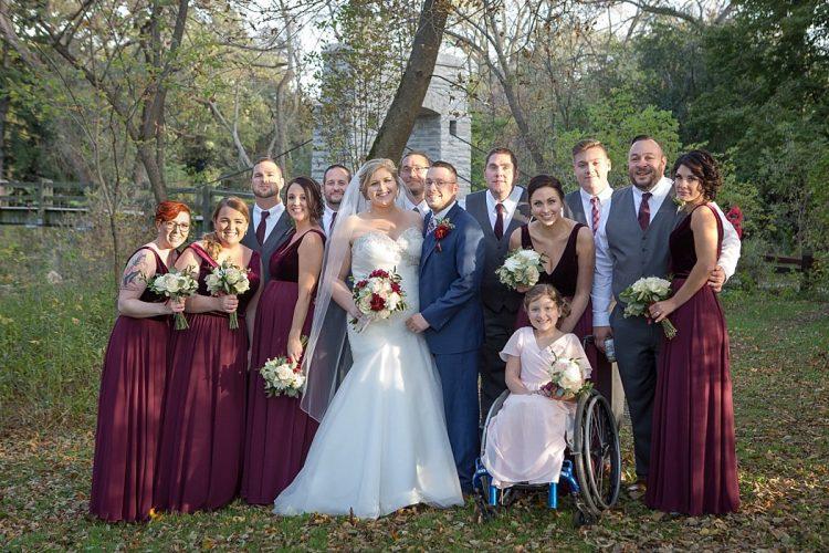 Wauwatosa Park Wedding