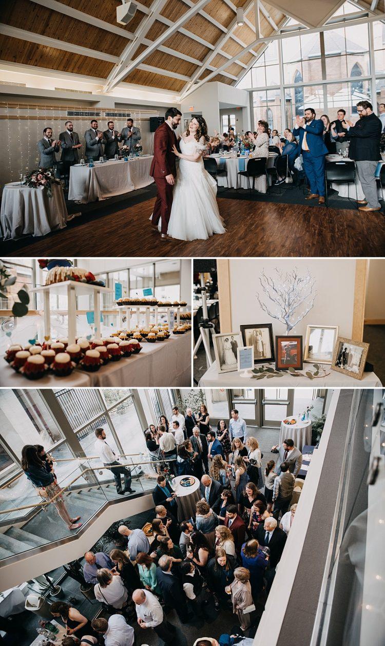 Grace Center Wedding Milwaukee