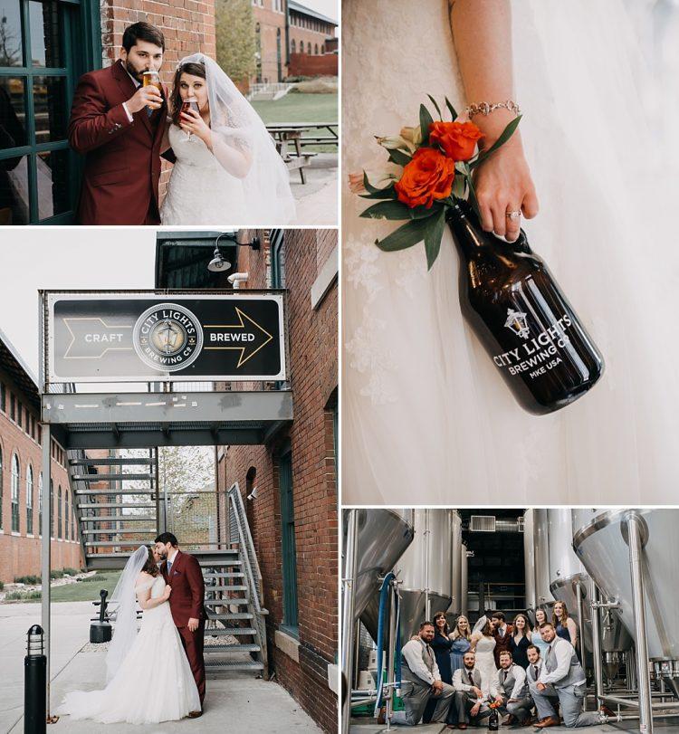 City Lights Brewery Wedding
