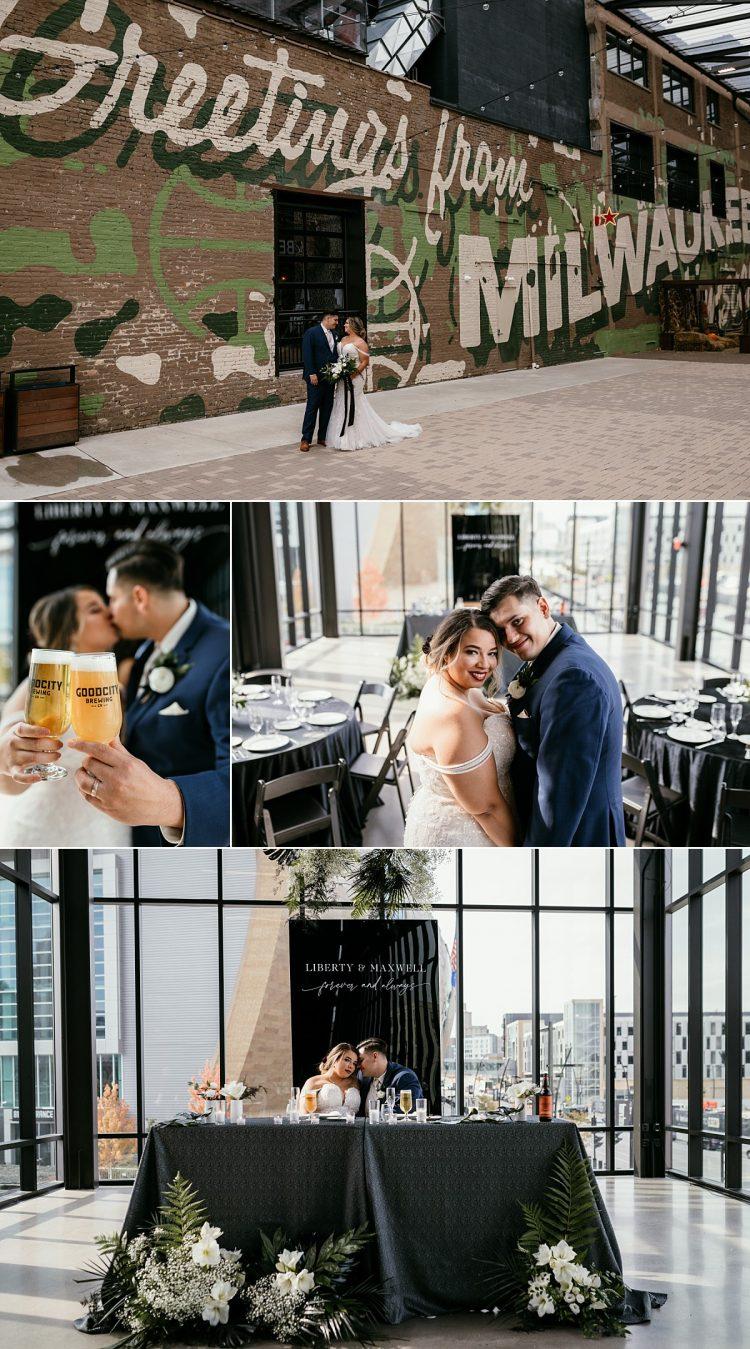 good city brewing weddings downtown milwaukee
