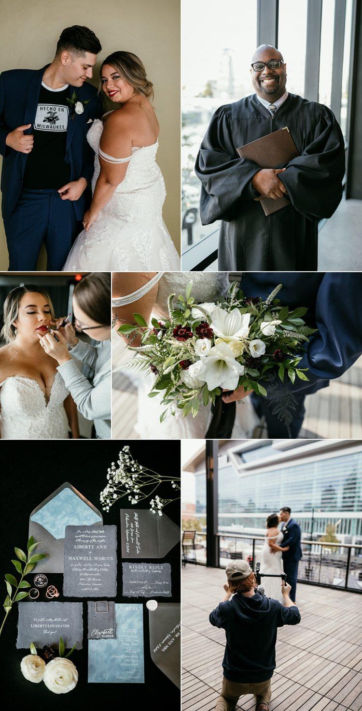 good city brewing wedding photo shoot
