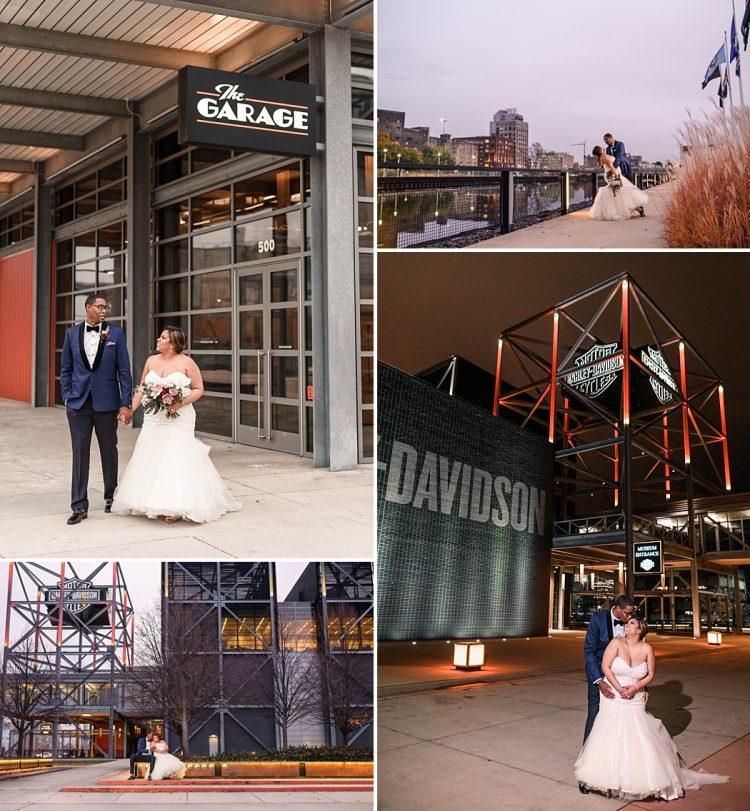 Harley Museum Weddings - Outdoor Space