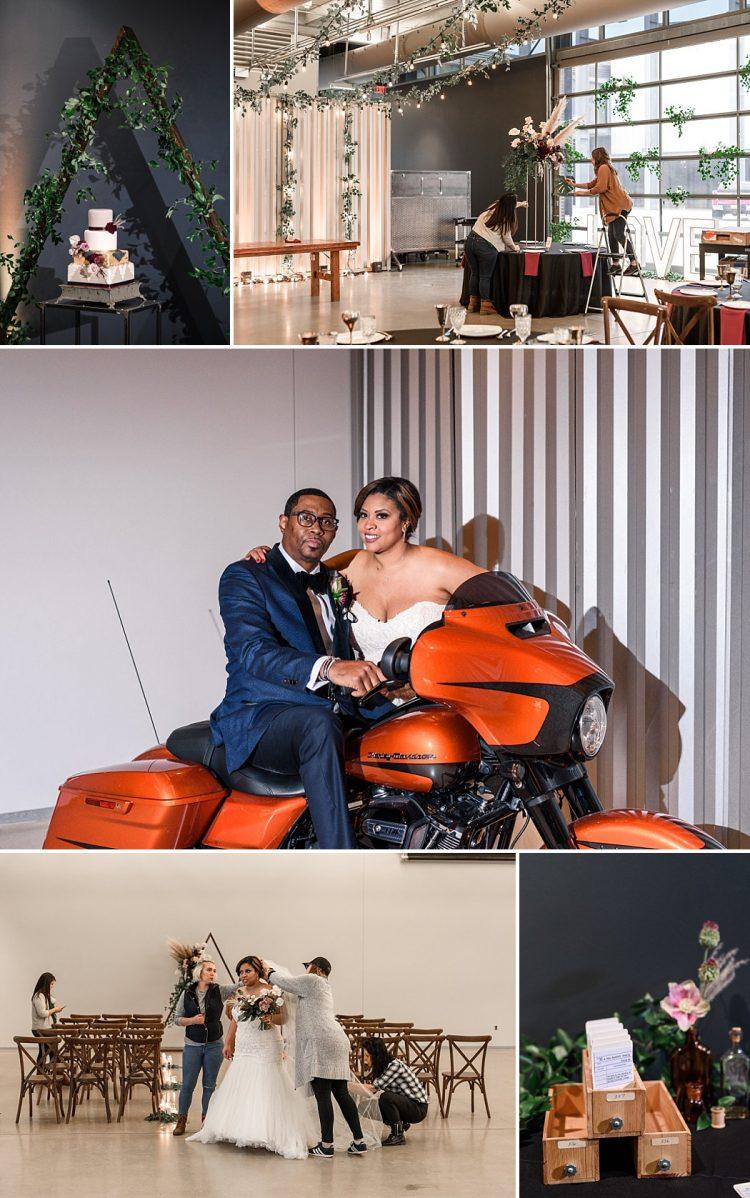 Harley Museum Wedding - The Garage