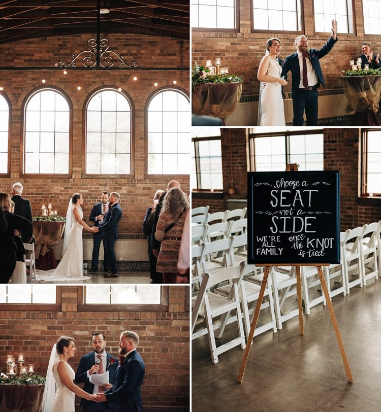 South Shore Pavilion Wedding Ceremony