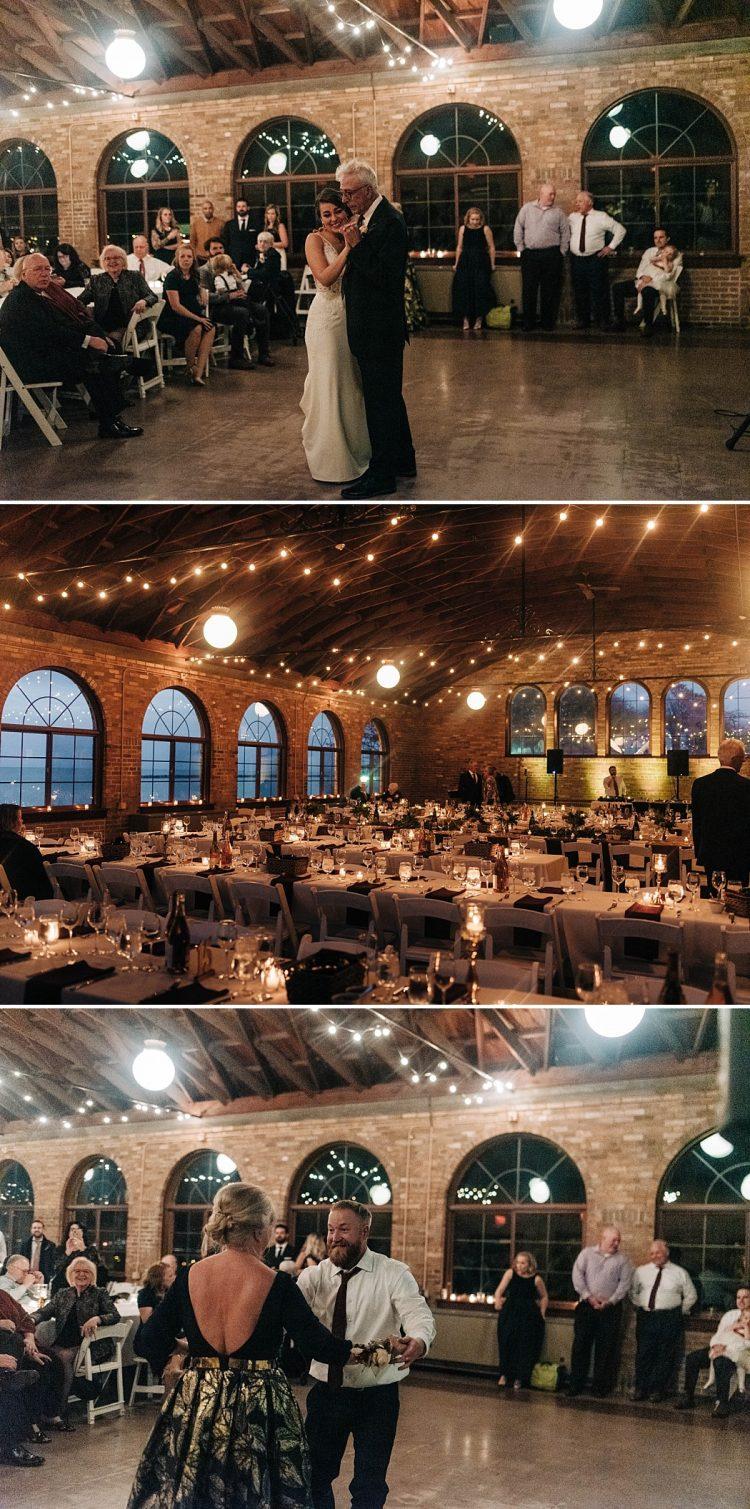 South Shore Pavilion Wedding Reception