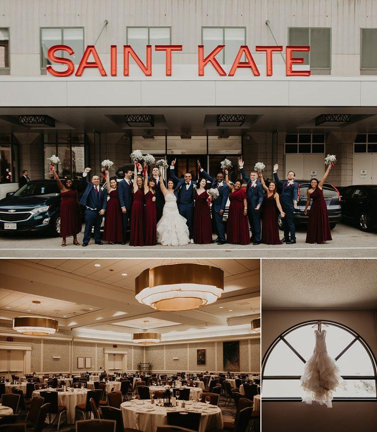 saint kate arts hotel wedding milwaukee