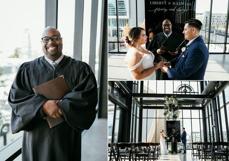 derek mosley milwaukee wedding officiant